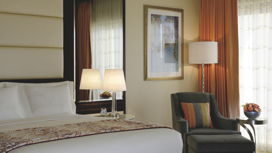One of the resort's guest rooms.