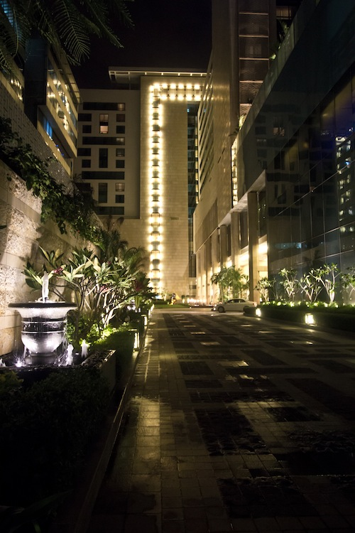 The exterior of The Ritz-Carlton, Bangalore.