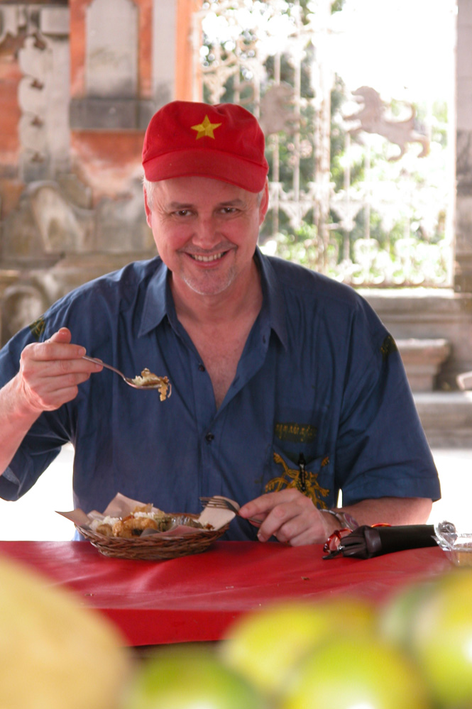 Robert Carmack of Globetrotting Gourmet tours.