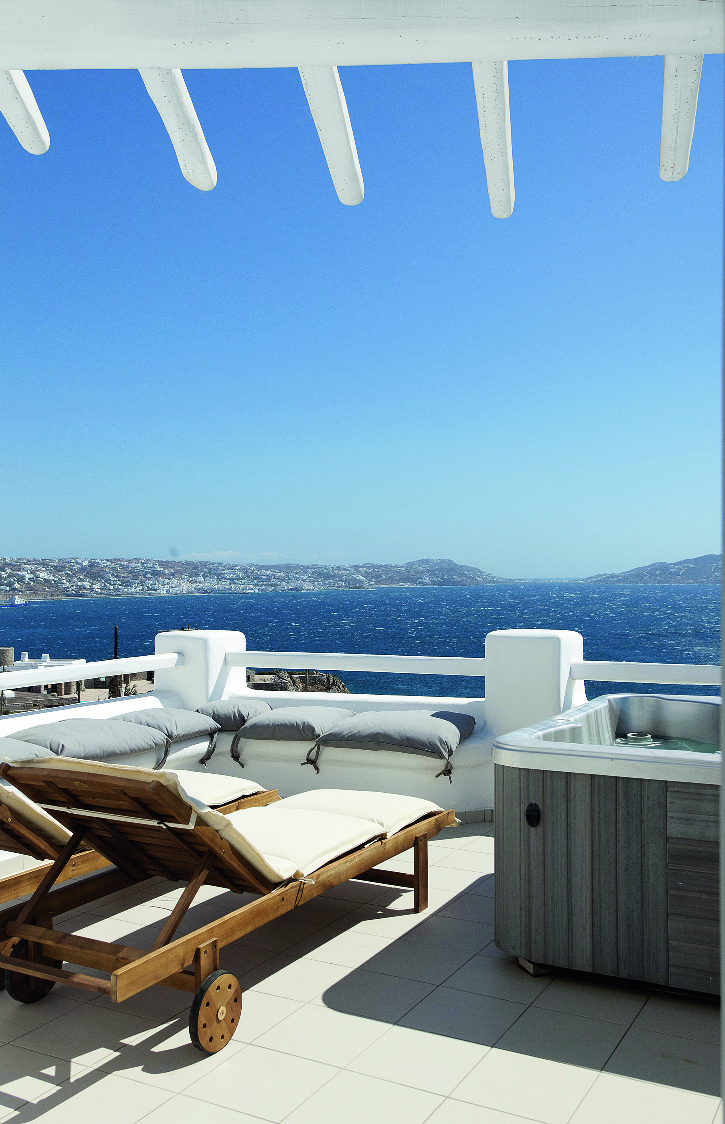 The Rocabella Hotel in Mykonos