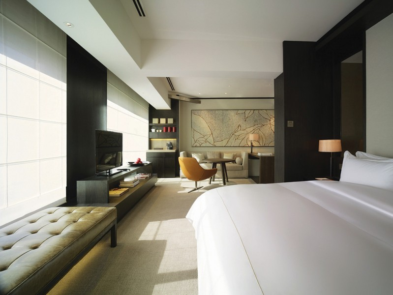 The hotel marks Rosewood's first property in China.
