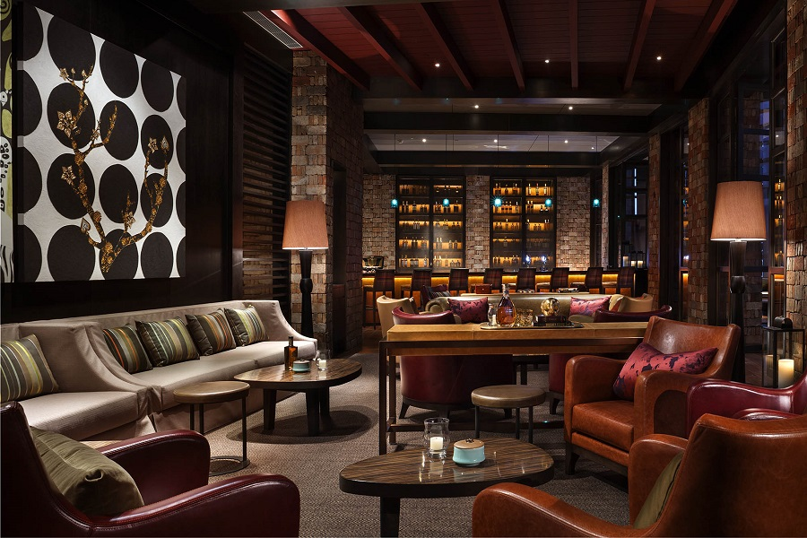Rosewood Beijing's MEI lounge comprises three different bars for guests to choose from.
