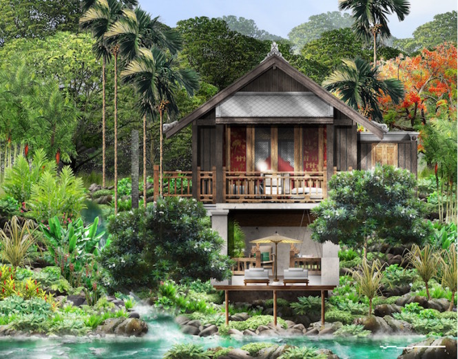 Rosewood Luang Prabang's guest villa. All photos courtesy of Rosewood Hotels & Resorts.