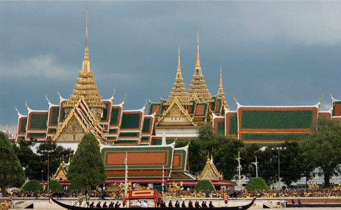 Bangkok event: The Royal Barge Procession along the Chao Phrya River.