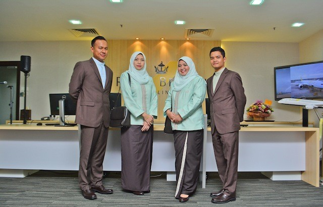 Royal Brunei Airlines Uniforms