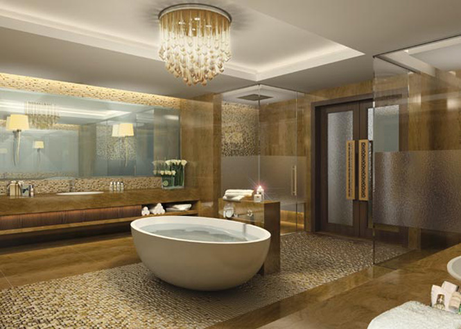 A Royal Mangroves Residence bathroom.