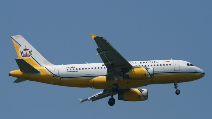 Royal Brunei AIrlines Airbus