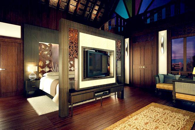 Rumah Kedah Bedroom.