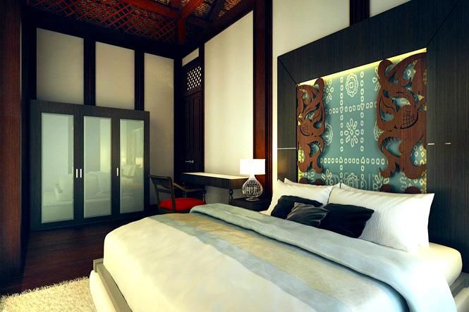 Rumah Pahang Bedroom