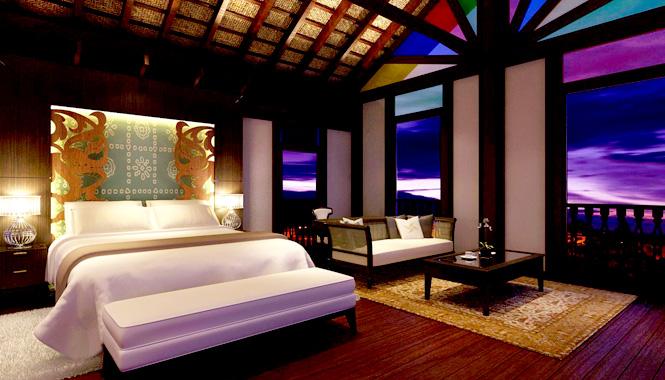 Rumah Terengganu Master Bedroom.