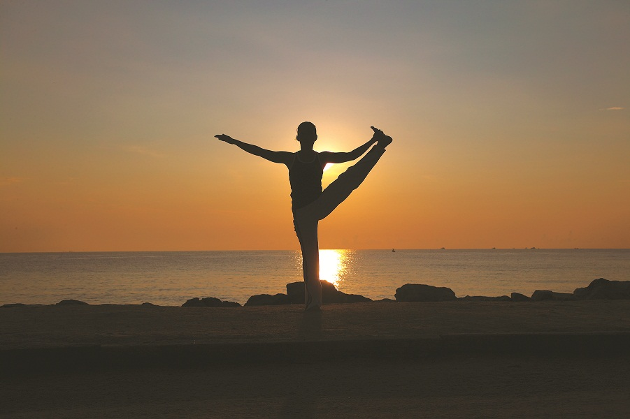 Six Senses yoga programs incorporated aspects of each spa's location into the program.