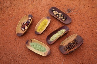 SEIT Outback Australia introduces guests to traditional Aboriginal foodstuffs.