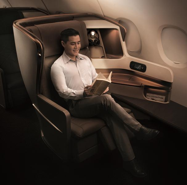 Business-class seats come with two new seating positions.