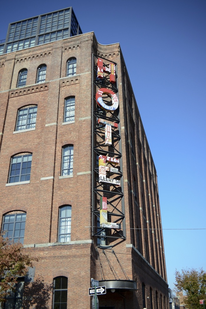 The hipster-centric Wythe Hotel occupies a 1901-built textile factory on the Williamsburg waterfront.