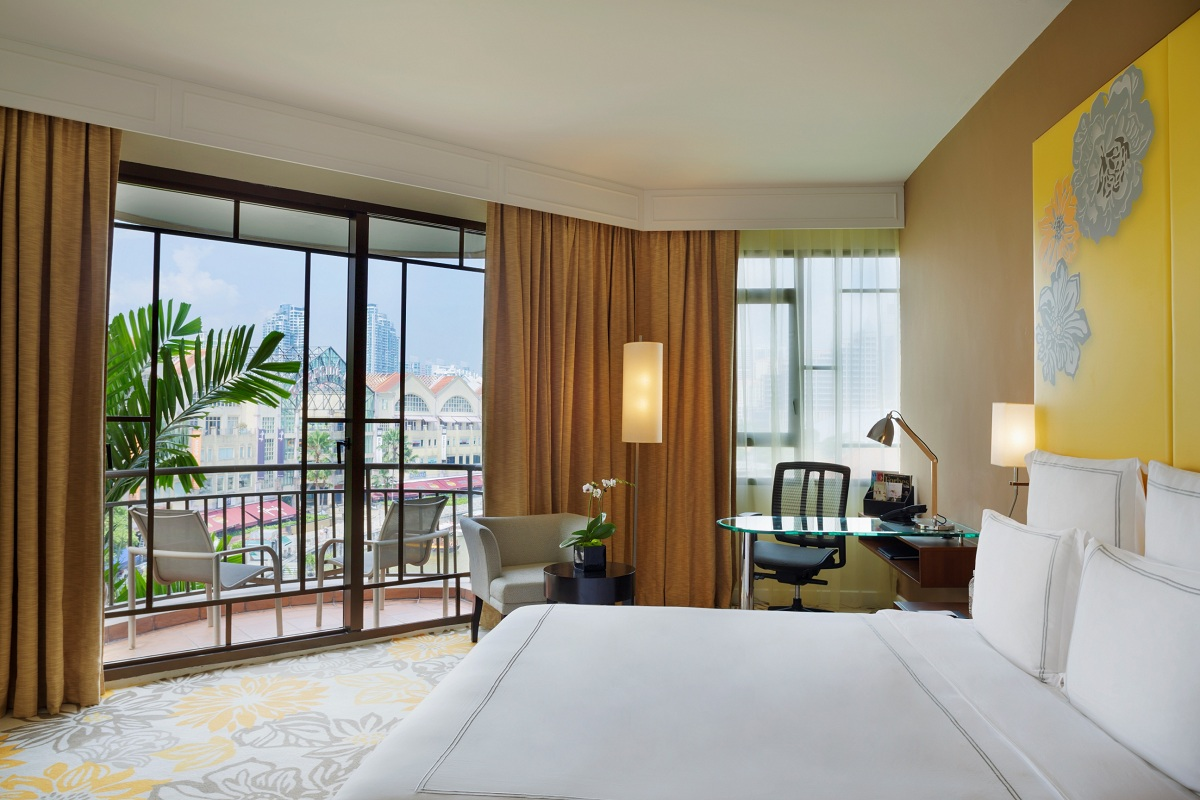 A Swiss Select Clarke Quay room