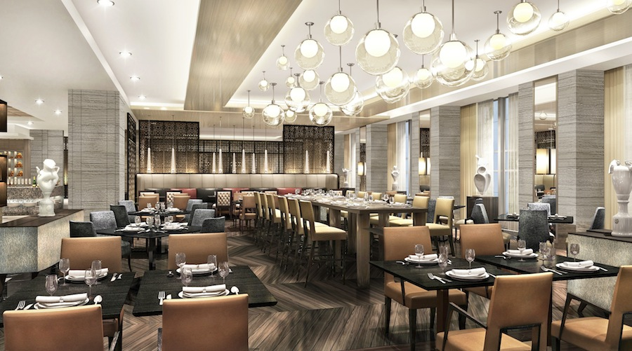 Spectrum, the hotel's all-day dining featuring international cuisine.