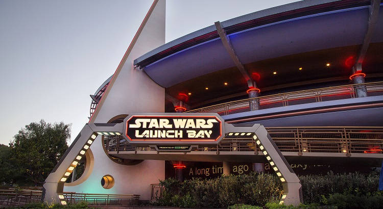 Star Wars Launch Bay is the central locale for guests to celebrate all things Star Wars.