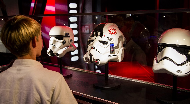 Explore galleries full of treasured authentic replicas of large-scale Star Wars artifacts.