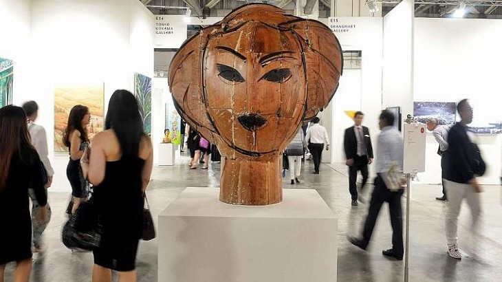 The fair will feature up to 50 galleries and include talks on contemporary art.