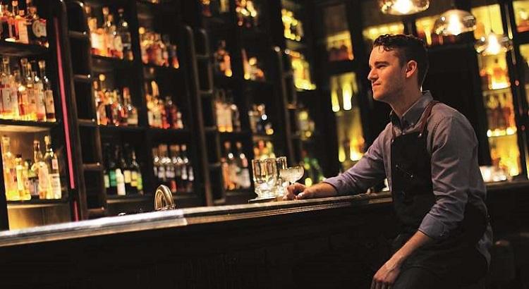 28 Hong Kong Street Bar in Singapore is helmed by head bartender Logan Demmy.
