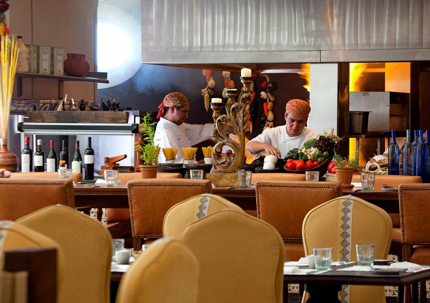 The Rosewood San Miguel de Allende kitchen.