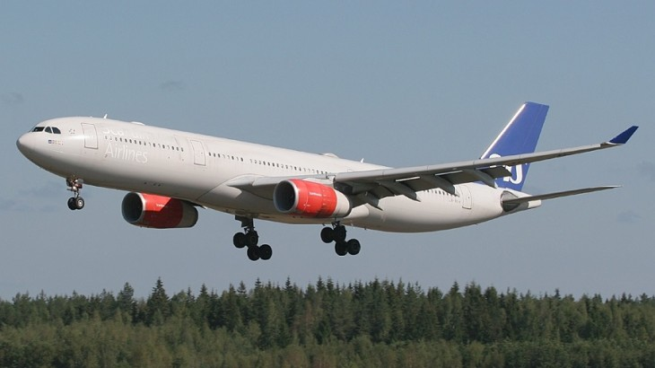 Scandinavian Airlines will be flying five times a week from Stockholm to Hong Kong.
