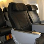 Scoot's business class seat.