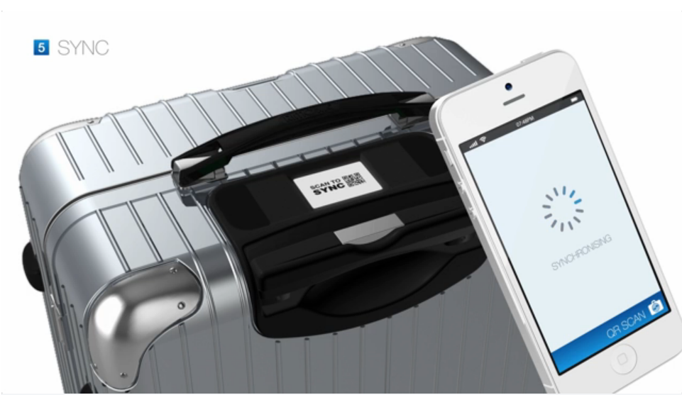 Airbus Bag2Go can be tracked via a mobile app for smart phones.