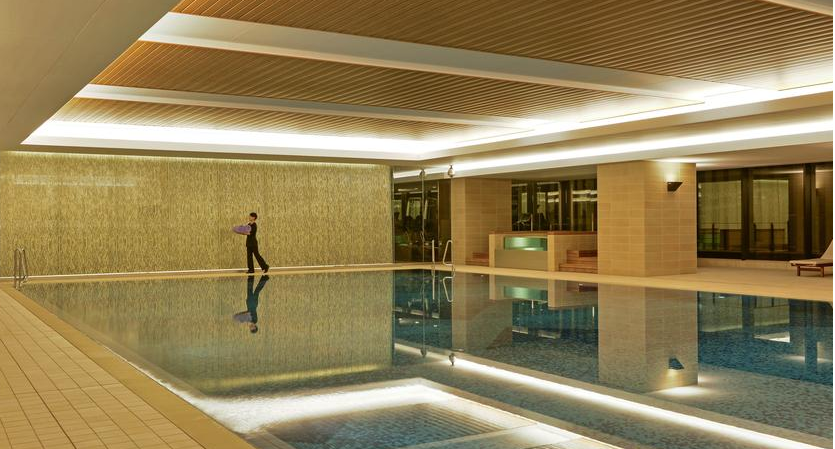 The glassy pool at the InterContinental Osaka.