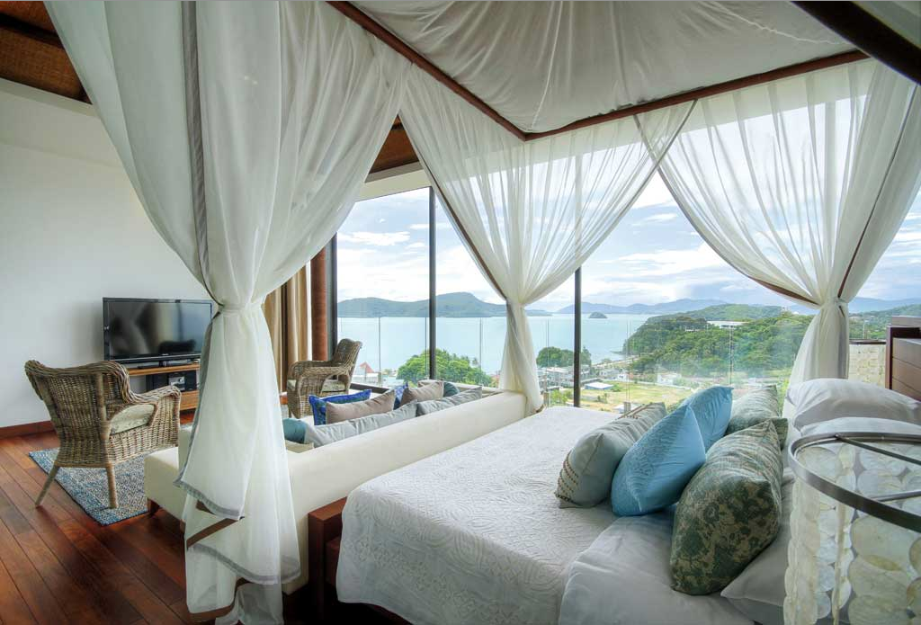The Absolute Suite's master bedroom.