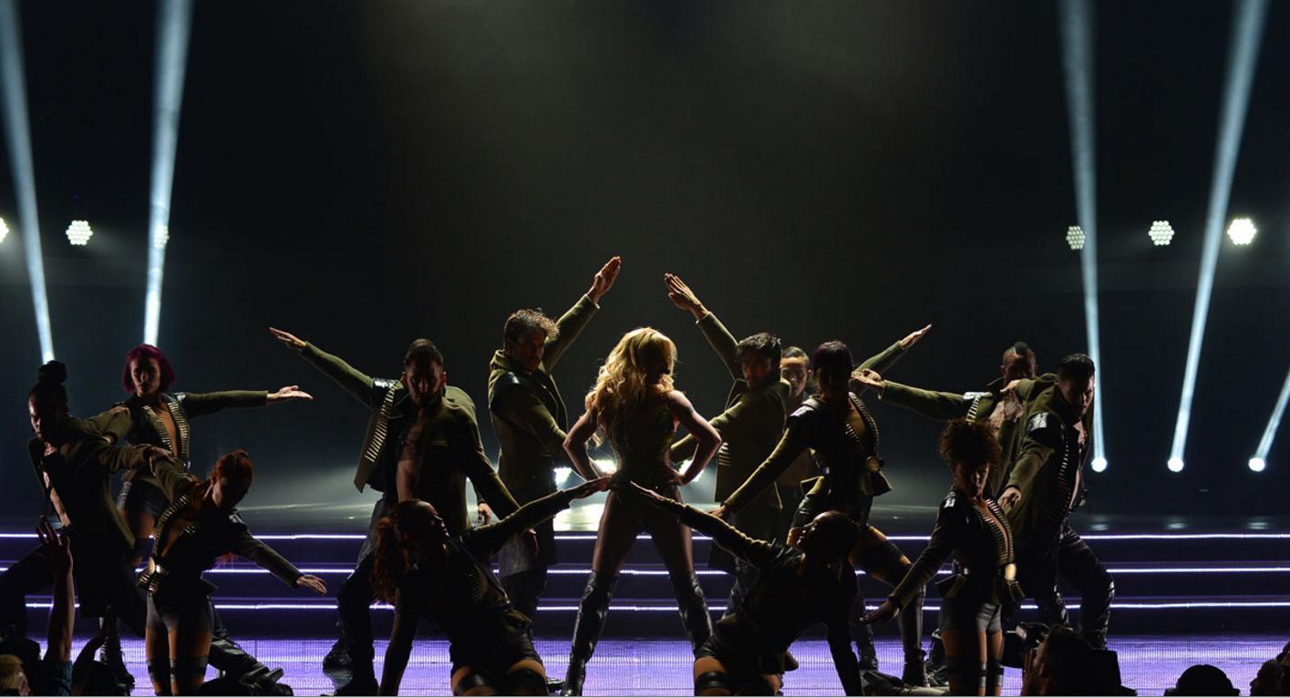 Britney Spears performing in Seoul this weekend.