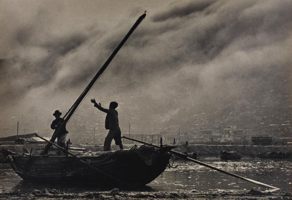Part of Fan Ho's photography collection.