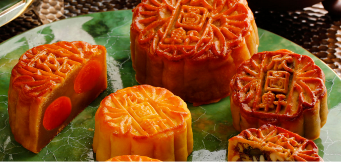 The InterContinental's mooncake selection