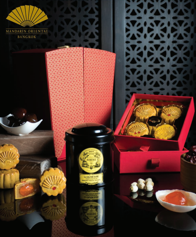 The Mandarin Oriental's mooncake selection