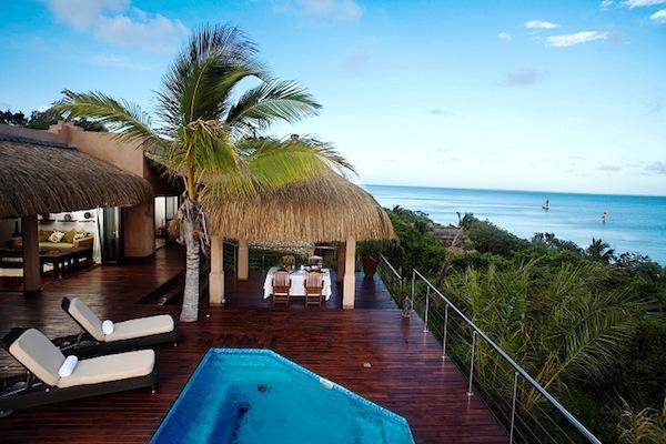 Sea View Pool Villa deck view.