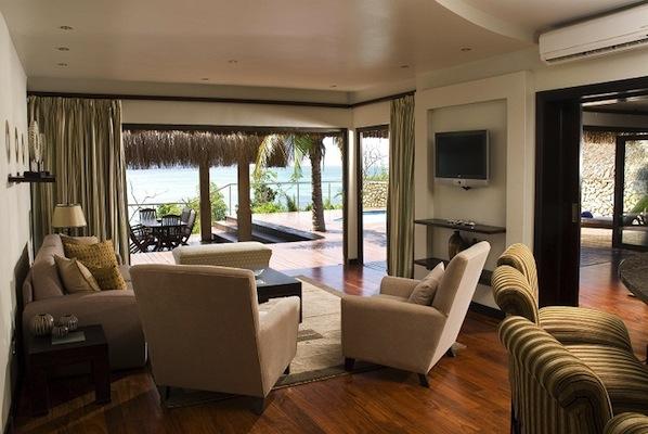 Sea View Pool Villa lounge.