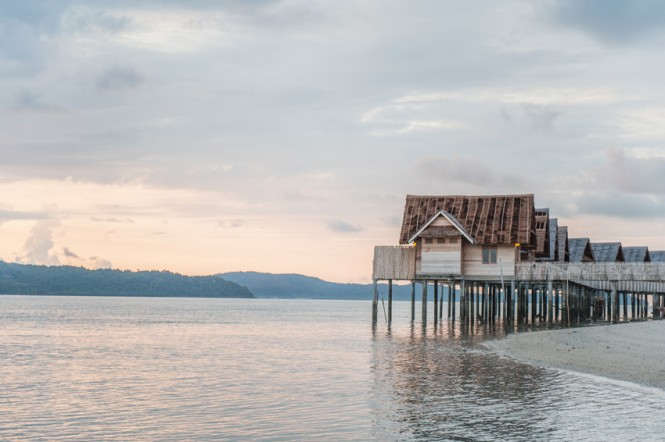 Unplug from your wired life at Telunas—the resort prides itself on having no Wi-Fi.