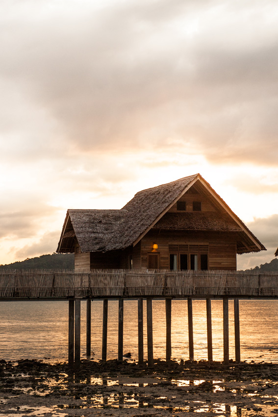 Enjoy natural activities from stunning sunsets to island hikes at Telunas Private Island.