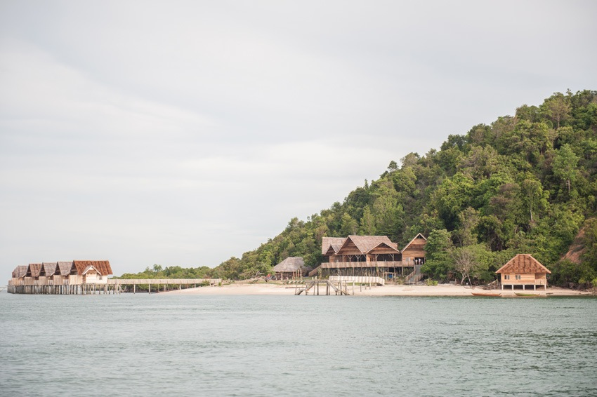 The Telunas Private Island stands in seclusion.