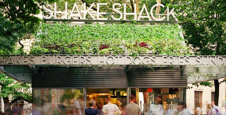 Shake Shack, now with locations worldwide, celebrates its 10th anniversary at its birthplace in Madison Square Park this week, serving burgers from celebrity chefs.