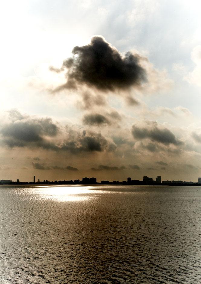 The Miami Beach skyline.