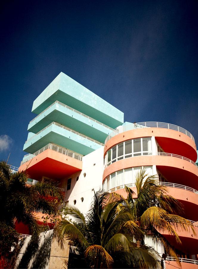 A condo on Ocean Drive.