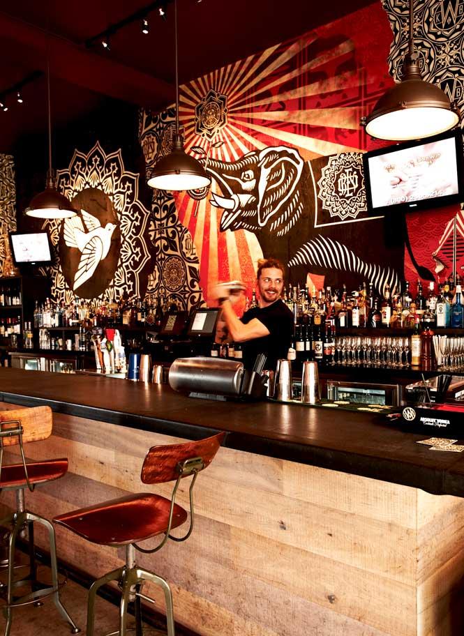 Murals meet mixology at Wynwood Kitchen & Bar.