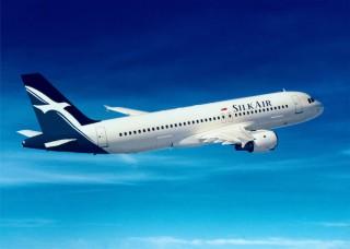Airlines SilkAir airplane