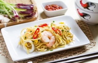 SilkAir Fried Hokkien Mee Featured