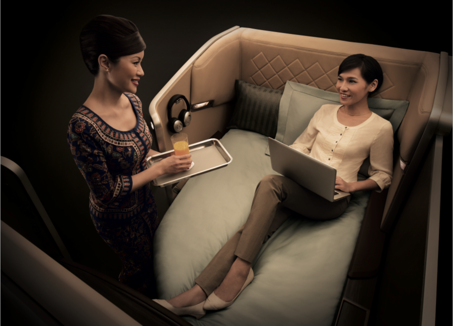 Passengers in First Class will now have up to 50kg of free baggage.