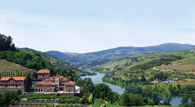 The Douro region, famed for its wines, is the setting of Six Sense's new resort.