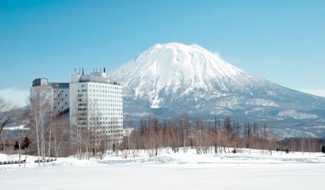 Skiing: Hilton Niseko Village hotel in Niseko, Japan.