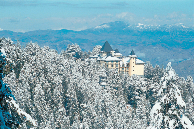 Wildflower Hall, one of India's best mountain lodges.