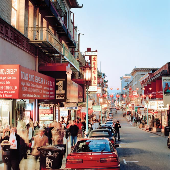 San Francisco may have changed over the years, but Grant Street in Chinatown remains much as the author remembers it from the 1980s.